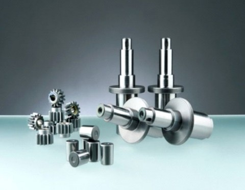 Mechanical parts from steels with low tempering temperature (below 200°C)
